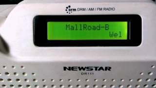 MULTI PROGRAM DRM TXN ALL INDIA RADIO, MALL ROAD, DELHI 1368 kHz, 1310 IST  28 June 2015