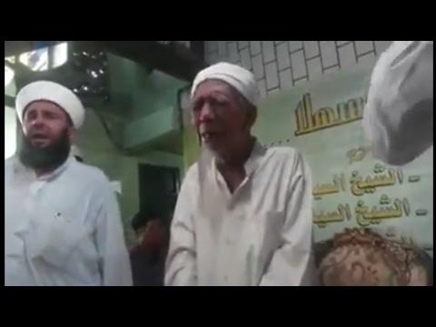 Kh Maimun Zubair Menangis Saat Mendengarkan Lantunan Sholawat