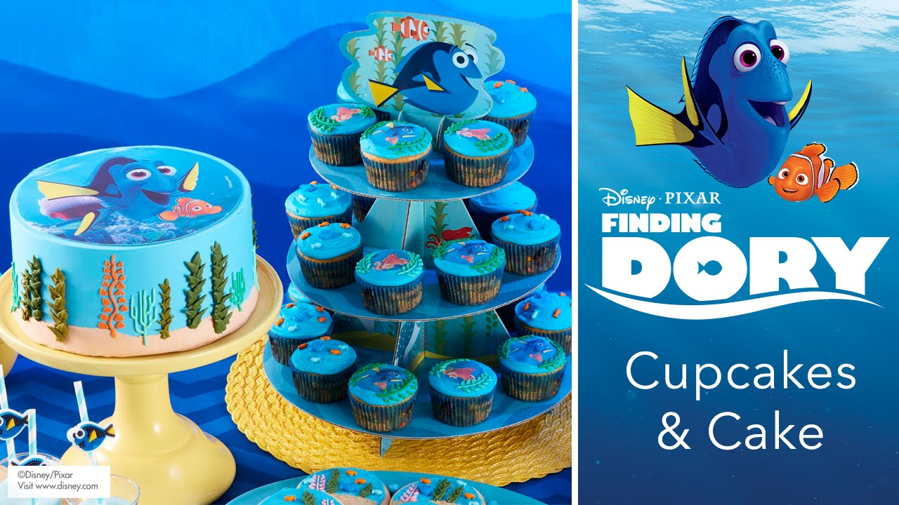 Finding Dory Cupcakes Cakes YouTube