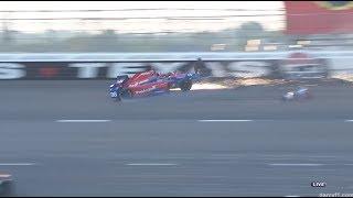 Rossi Crashes | IndyCar - Texas 2017