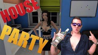 Hora de Bailar Desnudos!! | House Party | Ep. 2