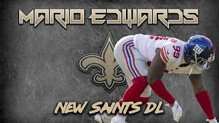 Saints DL Mario Edwards | 2018 Film Study w/ New York Giants