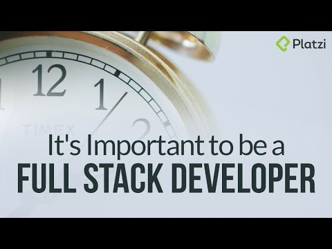 It's Important to be a Full Stack Developer