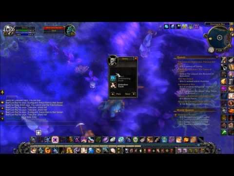 Undersea Survey World Quest Suramar World Of Warcraft