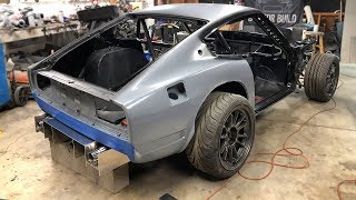 Building An Insane Rear Diffuser For The 240z