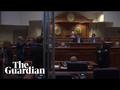 Anger erupts in Alabama senate over rape and incest exceptions to abortion bill