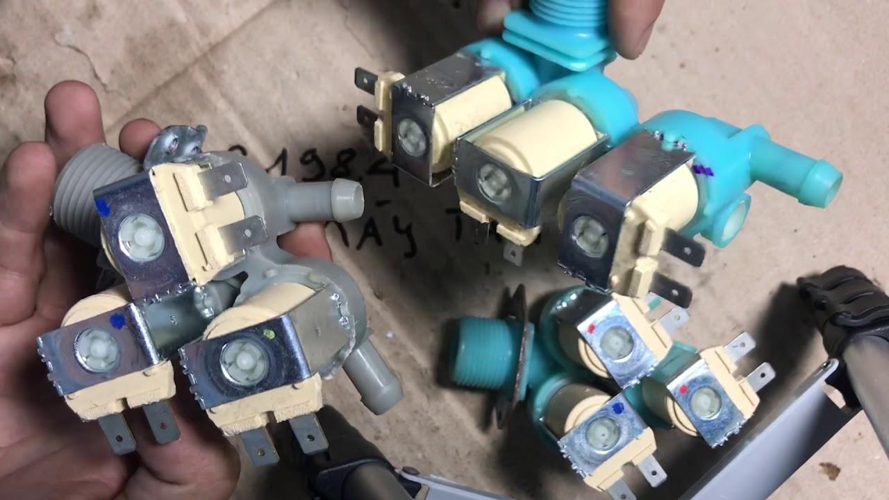 Hướng dẫn sửa van cấp nước Máy Giặt các loại,sửa lỗi 4C,4E,E5,E10,E11,E38,E1,IE,U14 – 098.198.4444