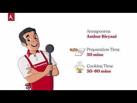 Ambur Mutton Biryani Recipe   Annapoorna Masalas & Spices