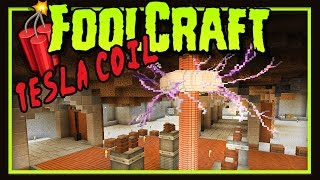 Foolcraft 3: Building A Tesla Coil For Immersive Engineering (Minecraft Modded Survival Ep 7)