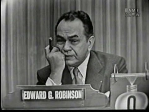 What's My Line?  Edward G. Robinson Oct 11, 1953