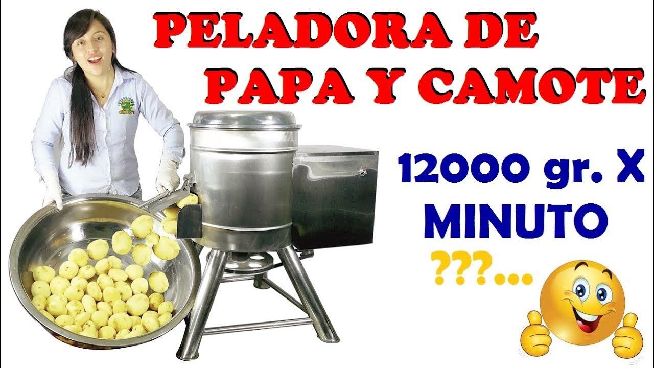 Maquina Peladora de Papas Industrial (PELADORA DE PAPAS ELÉCTRICA 2019 ) Pelador De Papas /Perú
