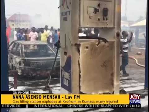 Gas Filling Station Explodes At Krofrom In Kumasi - AM Show on JoyNews (20-11-18)
