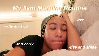 My *5am* High School Morning Routine 2020!