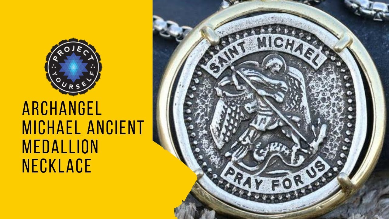 5af266de055 Archangel Michael Ancient Medallion Necklace - YouTube