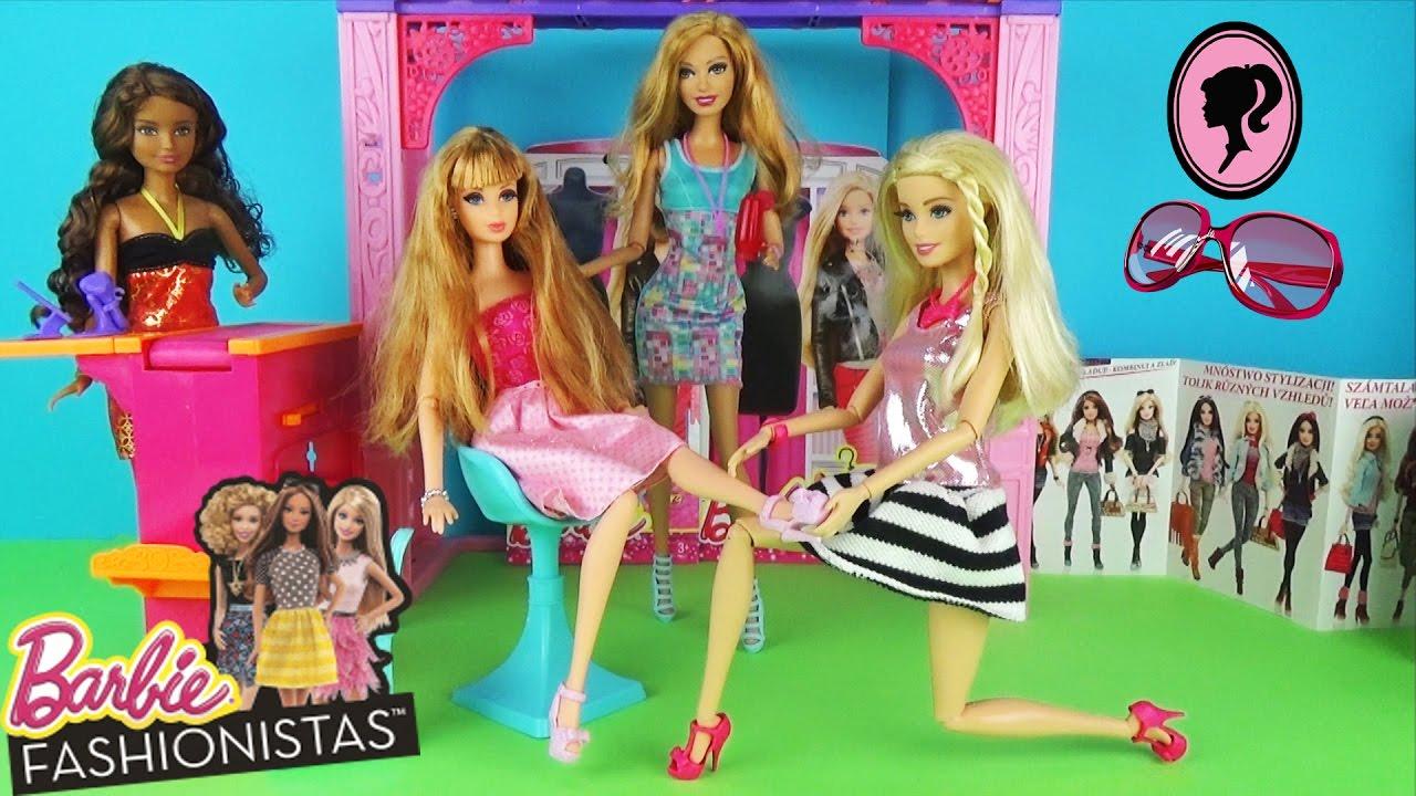 Мультфильм с куклами Барби. Подарок от Кена Дом мечты. Видео для детей 58