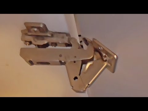 2 Types Of Concealed Cabinet Hinges Youtube