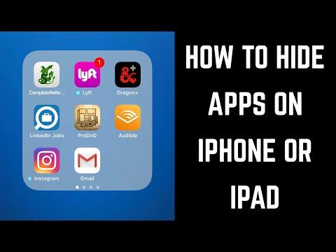 Finally LOCK Individual Apps on iPhone & iPad!! https://youtu.be/vdN7reBNoVY Website: http://iempty..