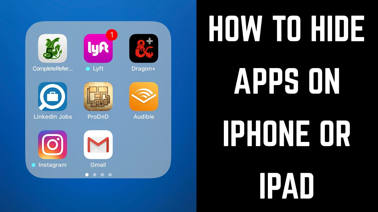 How to Hide Apps on an iPhone, iPad, or iPod Touch | TurboFuture