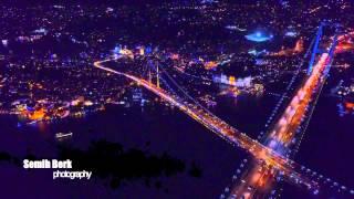 Drone ile Boğaz köprüsü hava çekimi