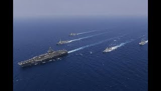 Alert: U.S Roosevelt Carrier Strike group enters South China Sea as China deploys aircraft carrier