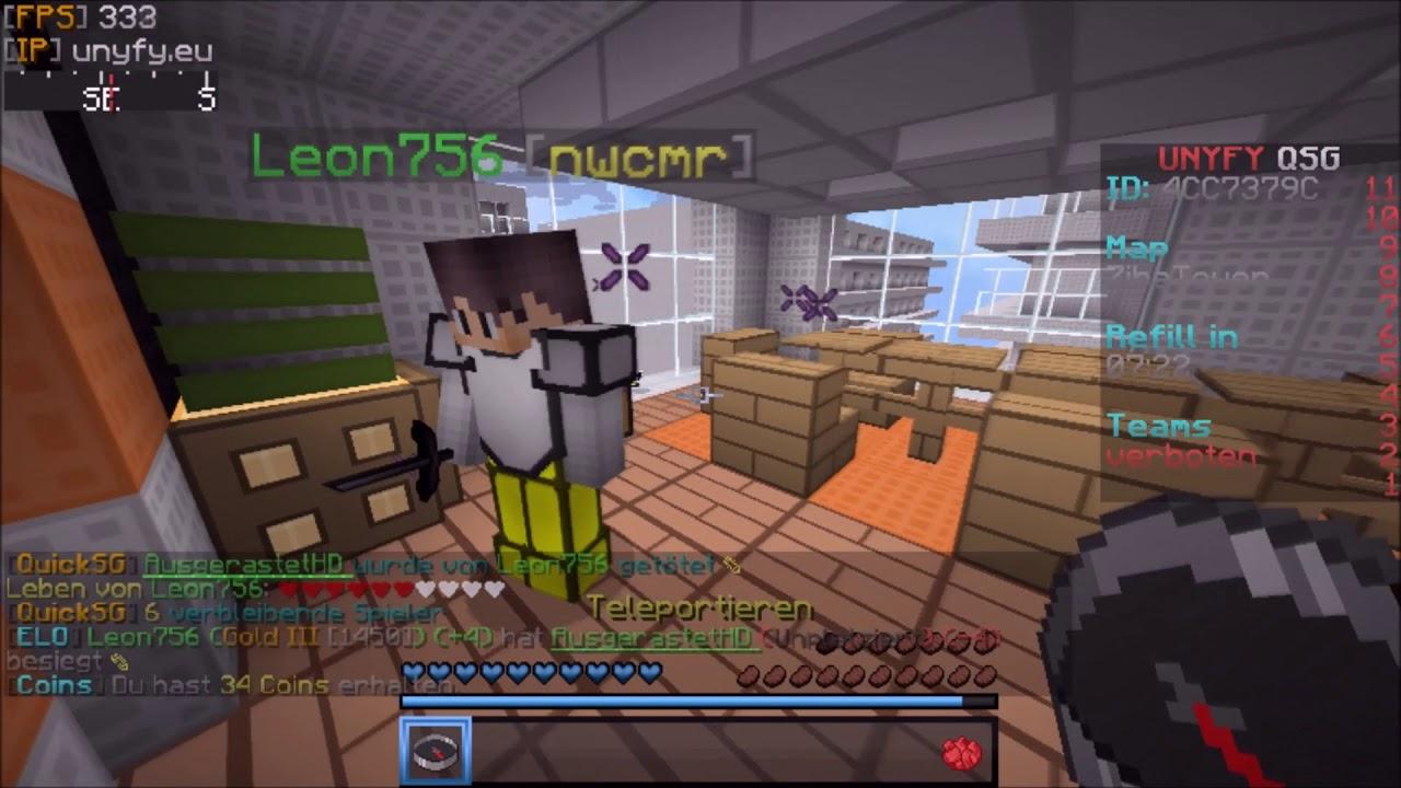 Minecraft QSG Auf Unyfyeu AusgerastetHD YouTube - Minecraft alle spieler teleportieren