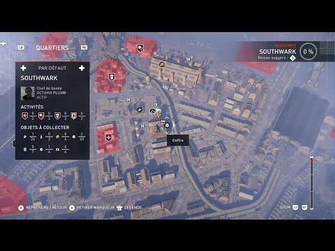 Assassin's Creed Syndicate - Coffre blanc n°1 à Southwark