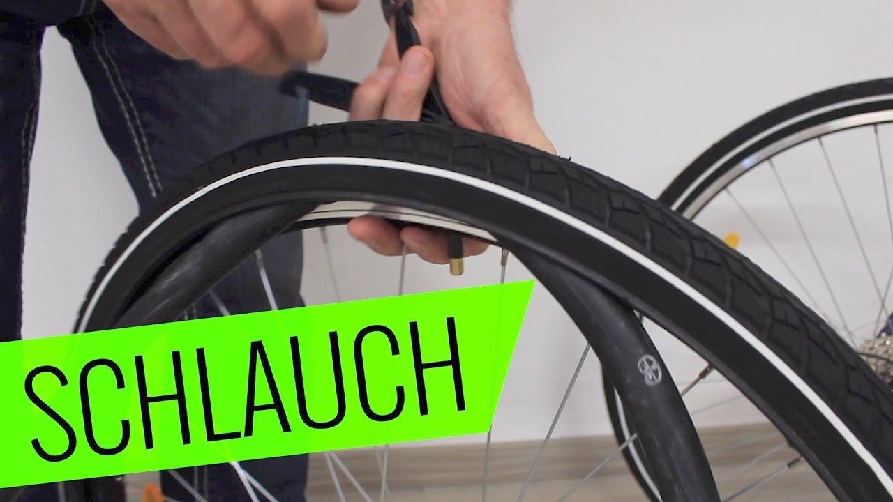 Fahrrad Schlauch wechseln - einfach & schnell - Fahrrad