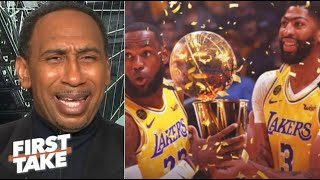 """Stephen A. """"excited""""  Lakers def. Nuggets 114-108 Game 4; LeBron-AD K.O Murray-Jokic"""