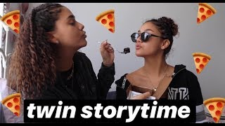 MUKBANG / FUNNY TWIN STORYTIME   MontesTwins 