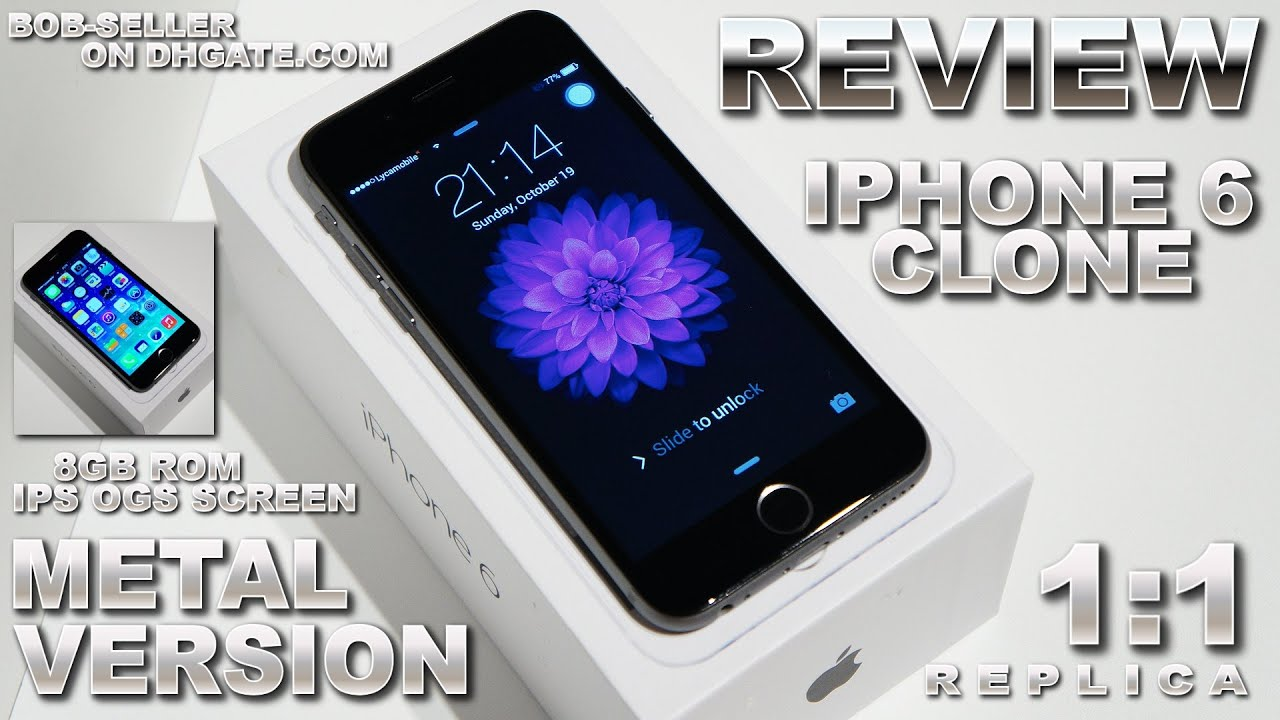 iphone 6 clone iphone 6 clone 1 1 metal version review ogs ips qhd 11308