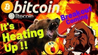 👀BITCOIN BREAKOUT COMING!!👀bitcoin litecoin price prediction, analysis, news, trading