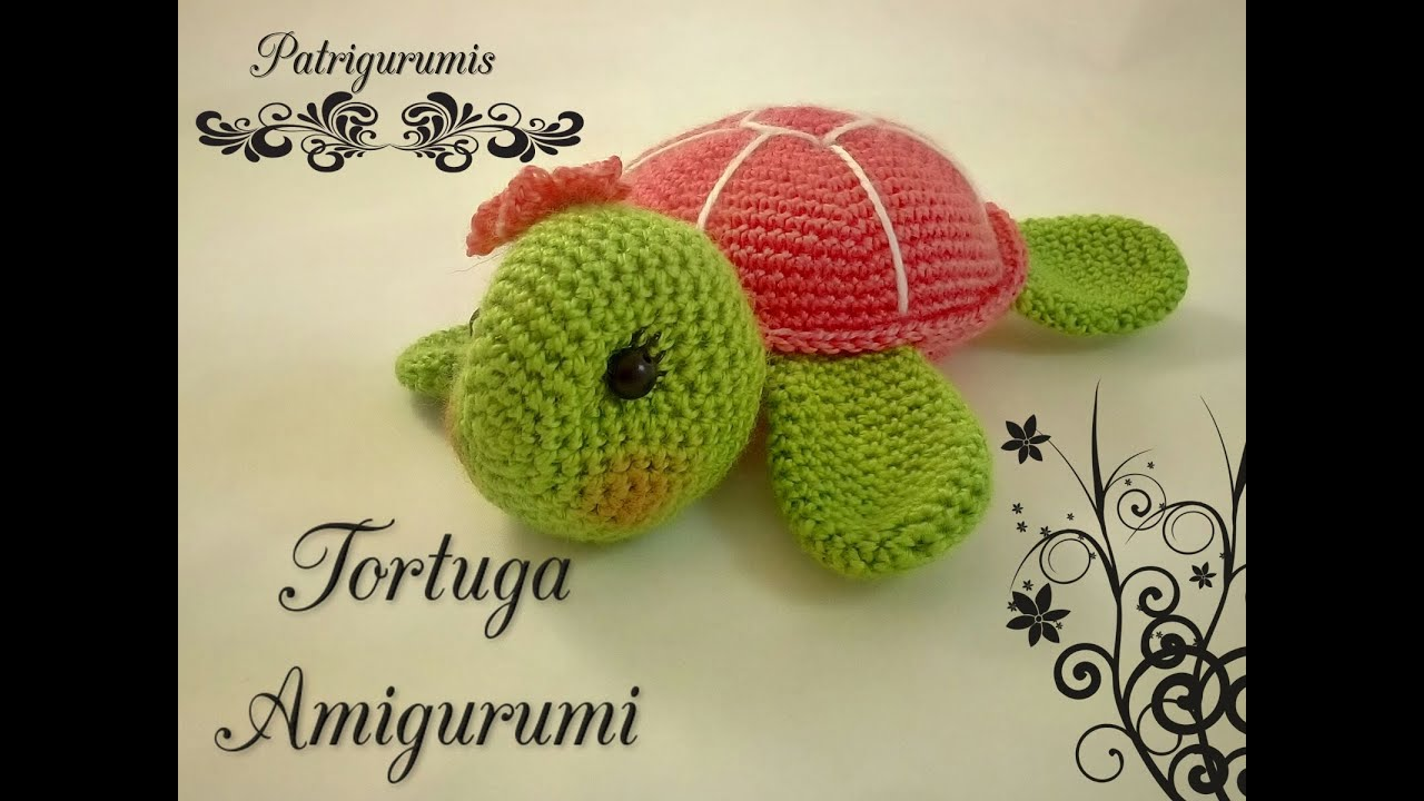 Video Patrón Tortuguita Amigurumi
