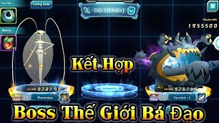 MLHC - Bộ Đôi Pokemon Boss Thế Giới Kết Hợp Quá Mạnh Nỗi Đáng Sợ Của Các Loài Pokemon