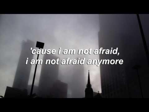 not afraid anymore - halsey // lyrics