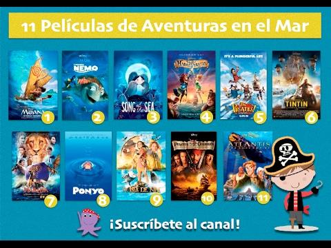 Películas de Aventuras en el Mar. Cine Familiar