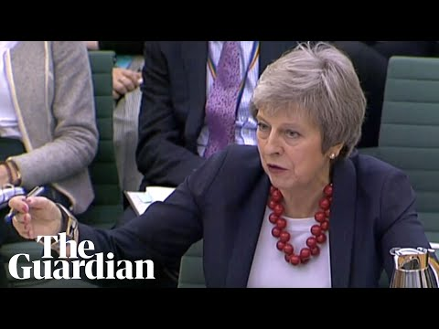 Theresa May gives evidence on Brexit negotiations to Commons committee – watch live