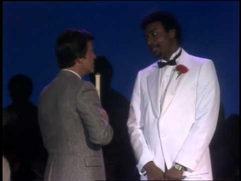 Dick Clark Interviews Dennis Edwards- American Bandstand 1984