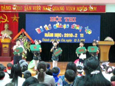 Hội thi Bé kể chuyện sáng tạo - Đội tuyển trường MN Hoàng Long (P1) - TP LC