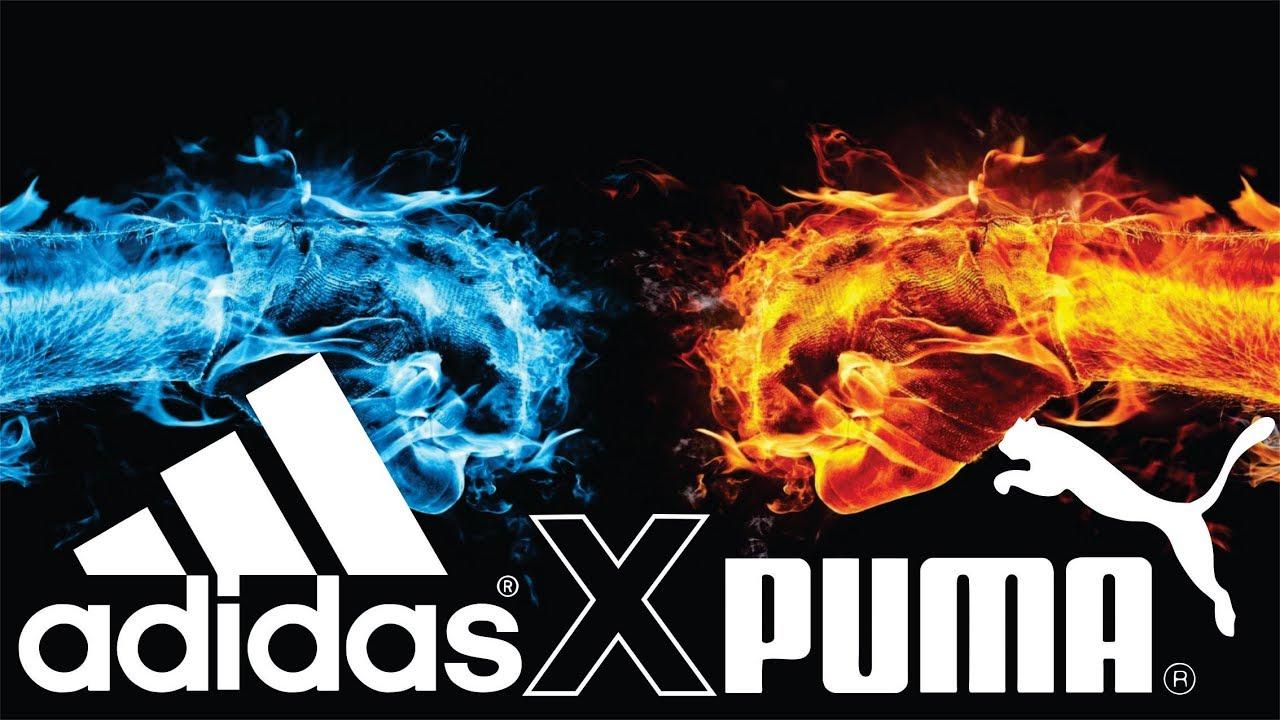 sprzedawca hurtowy styl mody nowy produkt Adidas x Puma | Uma história de amor e ódio