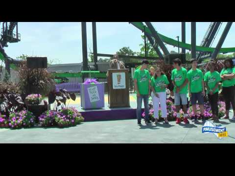 "Six Flags Great Adventure debuts ""The Joker"" 4-D Free Fly Coaster"