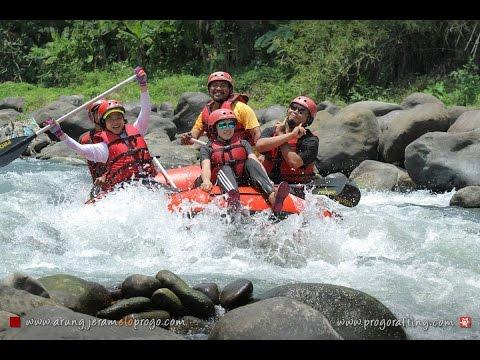 Rafting untuk Pemula di Sungai Elo