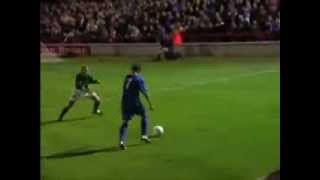 AFC Wimbledon- AFC Wimbledon player Rob Ursell Football Skills and Goals