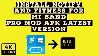 Install Notify And Fitness For Mi Band Pro Mod APK || Latest Version || screenshot 5