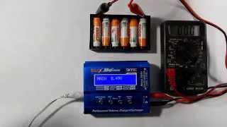 Рекомендації по зарядці NiMH акумуляторів на Imax B6 mini