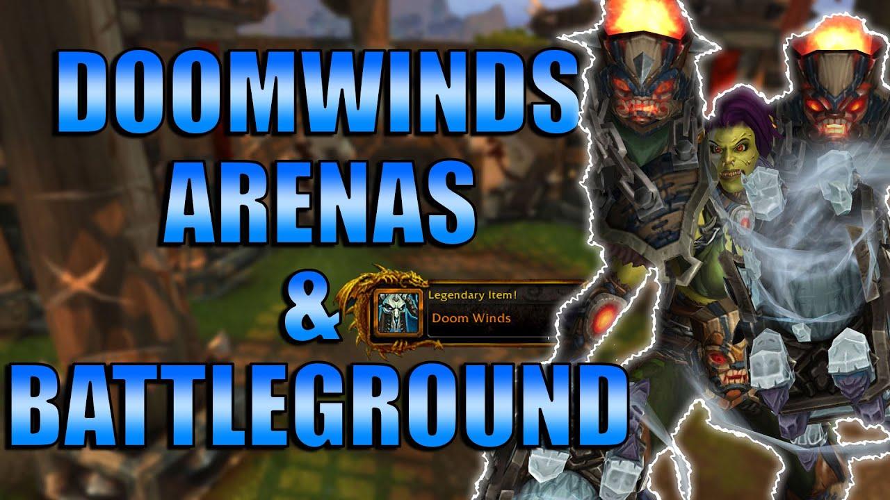 Doomwinds Windfury Annihilation Enhancement Shaman Arena Bg S World Of Warcraft Shadowlands Youtube