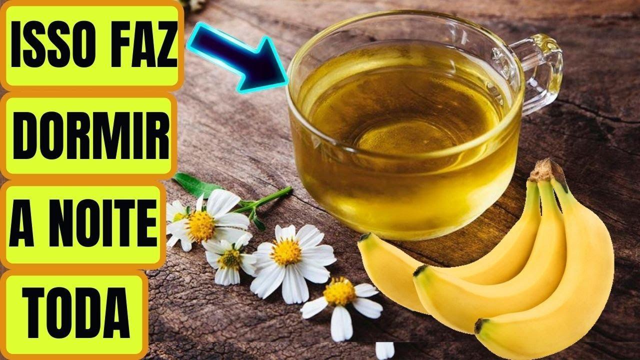 Chá Sossega Leão, Acalma, FAZ DORMIR Rápido e Combate a Ansiedade! Chá de Banana com Camomila