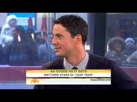 Matthew Goode on Leap Year