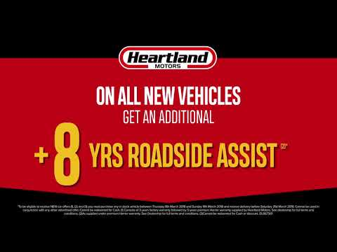 Heartland Motors' 4 Day Sale - Fri 9 to Mon 12 Mar