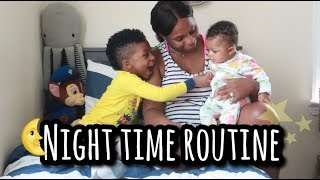 Newborn Baby & Toddler Summer Night Routine | The Young Life