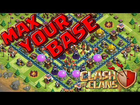Clash of Clans | How To Max Your Base FOR FREE